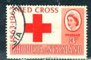 Rhodesia & Nyasaland; 1963: Sc. # 188: O/Used Cpl. Set