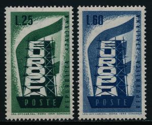 Italy 715-6 MNH EUROPA