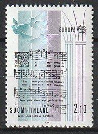 1985 Finland - Sc 708 - MNH VF - 1 single - Europa - Music excerpt