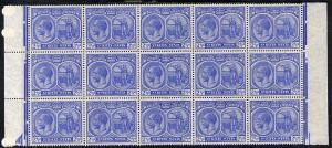 St Kitts-Nevis 1920-22 KG5 MCA Columbus 2.5d ultramarine ...