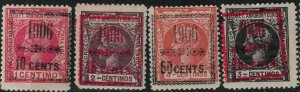 Elobey 1906 SC 35-38 Mint SCV $46.00 Set