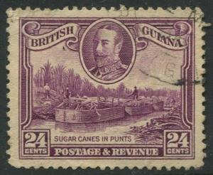 STAMP STATION PERTH British Guiana #216 - KGV Definitive Issue Used CV$12.00