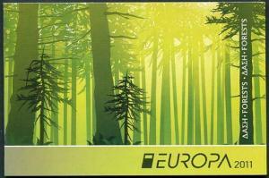 HERRICKSTAMP CYPRUS (BR) Sc.# 1150b Europa 2011 Booklet