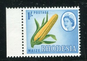 RHODESIA; 1964 early QEII Pictorial issue MINT MNH MARGIN 1s. value