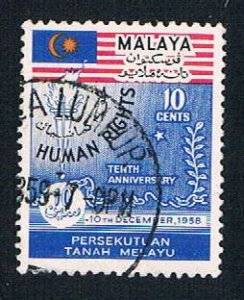 Malaya Federation 89 Used Human rights (BP22221)