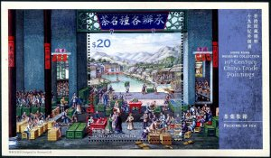 2021 Hong Kong Museum Collections Paintings SS II (Scott NA) MNH