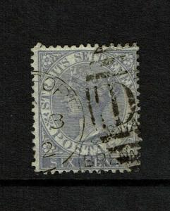 Straits Settlements SG# 13a, Used, D 14 cancel - S7481