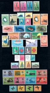 Indonesia Indonesien 1963 Complete Annee Year Set komplette Jahrgänge  MNH