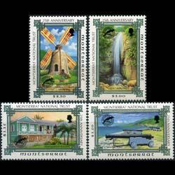 MONTSERRAT 1995 - Scott# 878-81 Natl.Trust Set of 4 NH