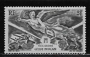 French Guiana C11 1946 WWII Victory single MNH