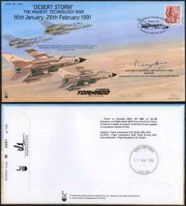 COF54 Desert Storm the Highest Tech War Signed Craig Of Radley 100 Produced (K)
