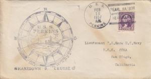 1937, USS Perkins, DD-377 to USS Koka, AF-31 (S13189)