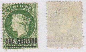 St. Helena #16 used CV $35