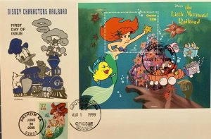 HNLP Hideaki Nakano 3914 The Little Mermaid Railroad Guyana Disney Characters RR