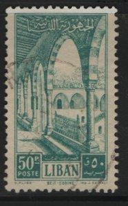 LEBANON, 283, USED, 1954, Gallery, Beit-ed-Din palace