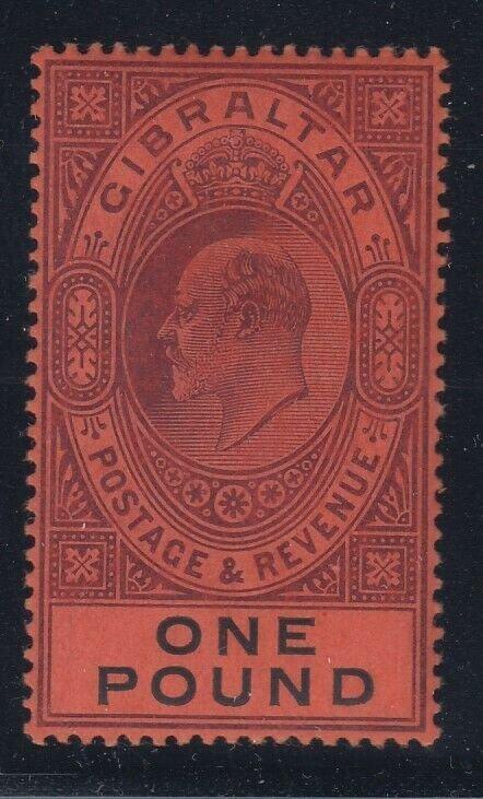 Gibraltar, Scott 64 (SG 64), MHR