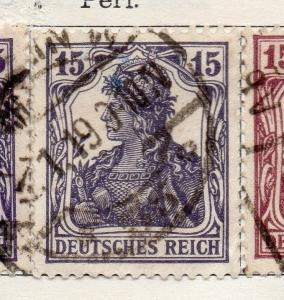 Germany 1918 Early Issue Fine Used 15pf. 131361