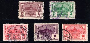 THAILAND STAMP SIAM  USED STAMPS COLLECTION LOT #2