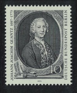 Berlin Music Death Bicentenary of Johann Quantz composer SG#B441