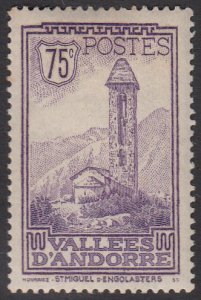French Andorra 44 MH (see Details) CV $11.50
