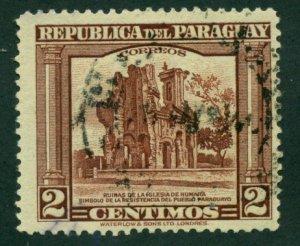 Paraguay 1945 #407 U SCV (2018) = $0.25