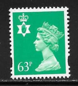 Great Britain Northern Ireland NIMH64 63p Machin MNH