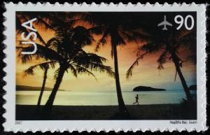 2007 90c Hagatna Bay, Guam Scott C143 Mint F/VF NH