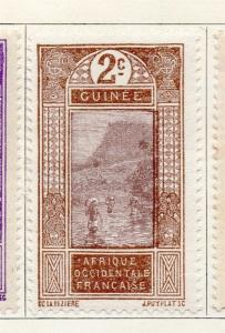 French Guinea 1913 Early Issue Fine Mint Hinged 2c. 166580