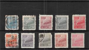 Lot of 10 China PRC Mixed Condition Stamps Scott # 85 - 94 #138090