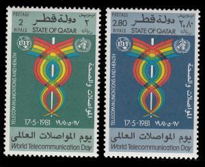 Qatar 599 - 600 MNH