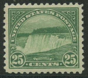 #568 25c 1923 XF+ OG NH GEM BU8913