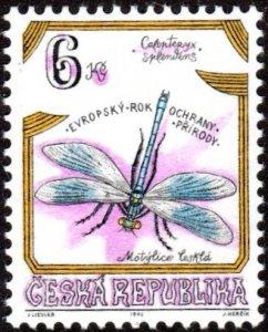 Czech Republic 2953 - Mint-H - 6k Dragonfly (1995) (cv $0.85)