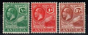 Antigua #42-3, 45 F-VF Unused CV $14.25 (X901)