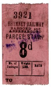 (I.B) Rhymney Railway : Parcel 8d (Bargoed & Aberbargoed)