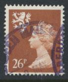 GB Scotlan  SG S91 SC# SMH79 Used   Machin 26p  see details