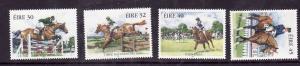 Ireland-Sc#1116-19-unused NH set-Horses-Equestrian Sports-1998-