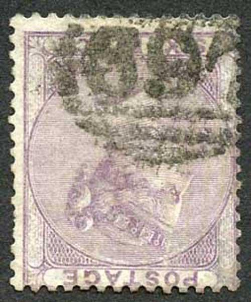 SG68Wi 6d Lilac Wmk Emblems Inverted Fine Used Cat 400 pounds