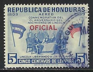 Honduras CO101 VFU Z3548-1
