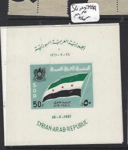 SYRIA   (P3112BB)   FLAG   M/S   SG 806A   MNH