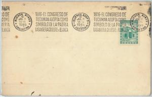 66392 - ARGENTINA - Postal History - SPECIAL POSTMARK on COVER: FLAGS  1945
