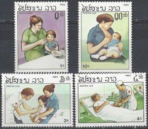 Laos  669-72  MNH  UN WHO