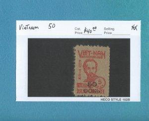 Vietnam 50  MNH