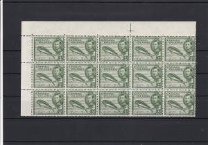Cayman Islands Fish Mint Never Hinged Stamps Block ref R 18358