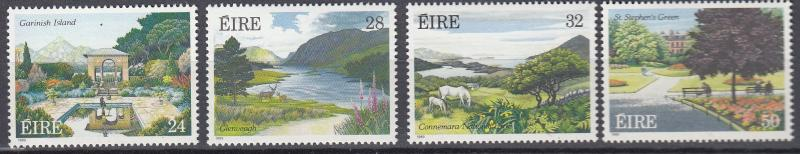 Ireland - 1989 Parks and Garden complete set Sc# 740/743 - MNH - (304)