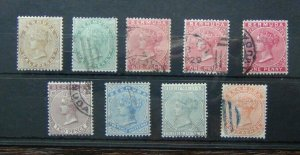 Bermuda 1883 - 1904 values to 4d Used