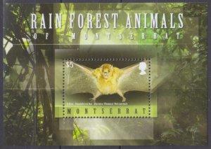 2009 Montserrat 1480/B129 The bats
