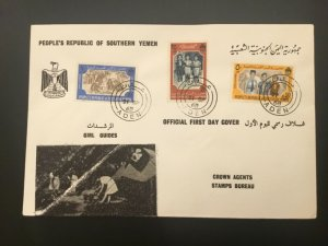ICOLLECTZONE Boy Scout  Yemen with ADEN Cancel Cover (D100)