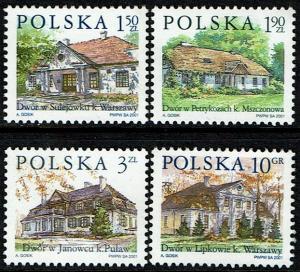 Poland Scott 3571-3574 (SW see descrip.) MNH (2001) Country Estates