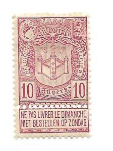 Belgium 1894 - M - Scott #77 *