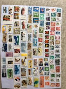 German 100+ stamps - Lot C
